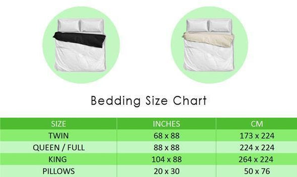 Bedding Sets - Yoga Bedding Set 19 - White