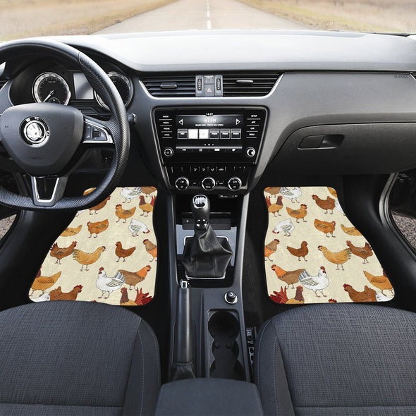 Carmats - Chickens -  Car Mats