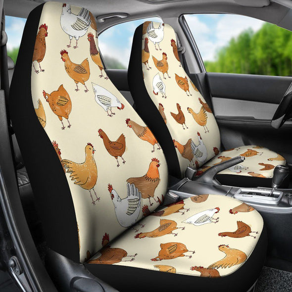 Carseatcovers - Chickens - Car Seat Covers