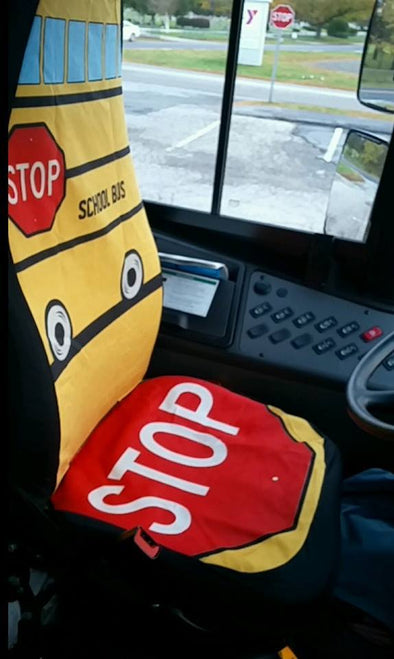 Carseatcovers - School Bus Driver Car Seat Covers