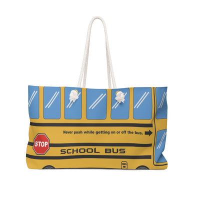 Weekender Bag - School Bus
