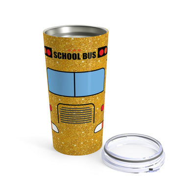 Glitter School Bus Tumbler 20oz