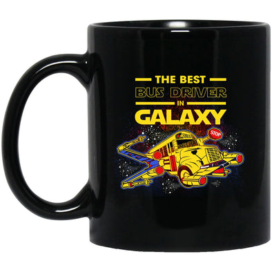 Drinkware - BUS Driver GALAXY Black Mug