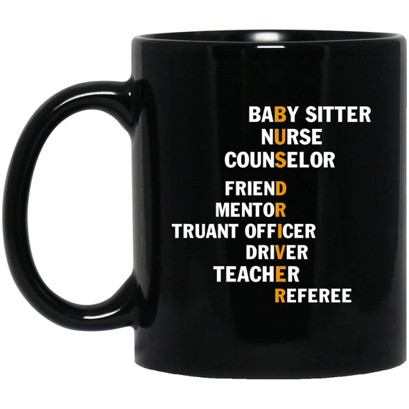 Drinkware - BUS DRIVER JOB TITLE Black Mug