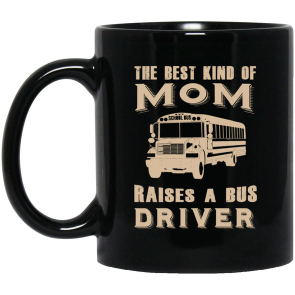 Drinkware - BUS MOM Black Mug