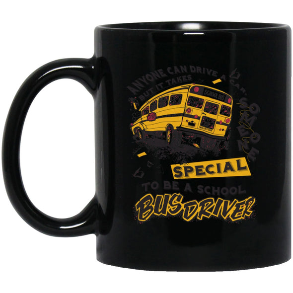 Drinkware - Only Special Bus Driver Can Black Mug