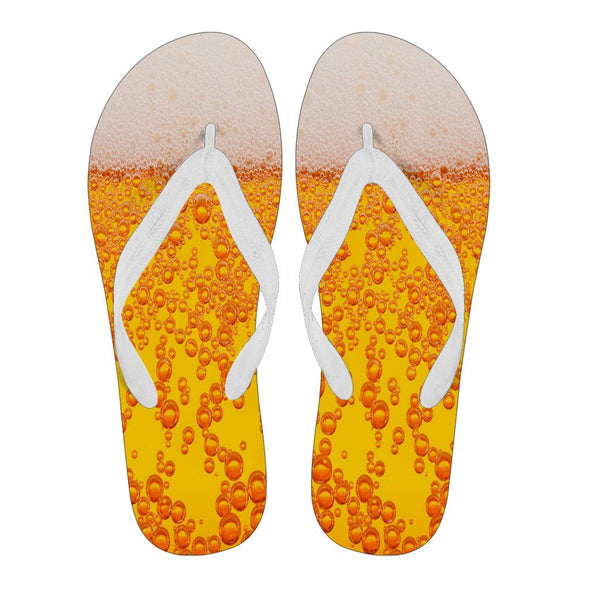 Flipflops - Beer - Men's Flip Flops White