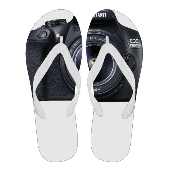 Flipflops - Men's Flip Flops Camera Canon Black