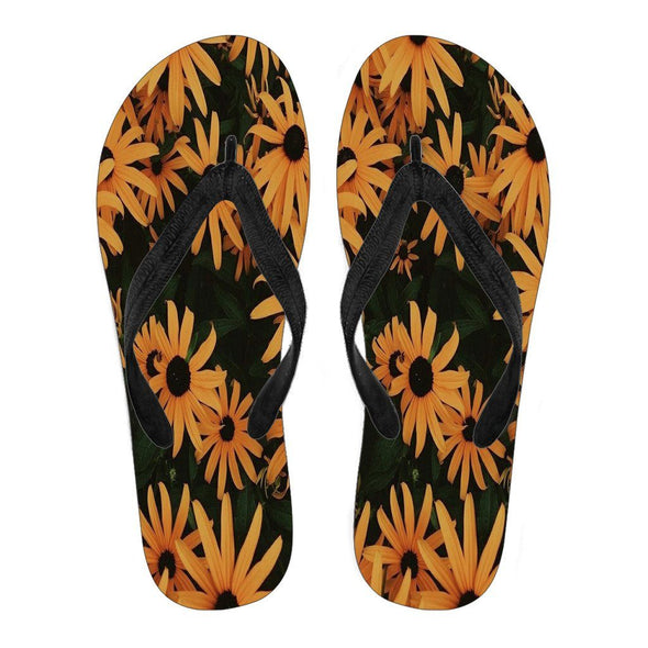 Flipflops - Women's Flip Flops Flower Beatuty