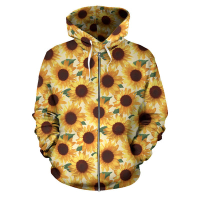 Sunflower Zip Up Hoodie