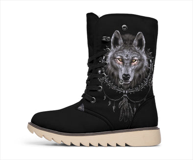Wolf Dreamcatcher Polar Boots