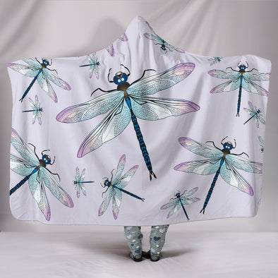 Mystical Dragonfly Hooded Blanket
