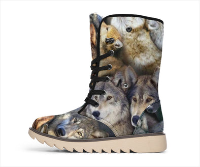 Wolf Lover Polar Boots