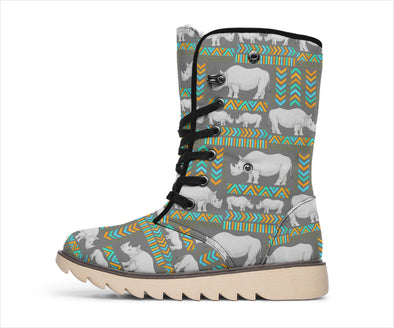 Save Rhinos Tribal Polar Boots