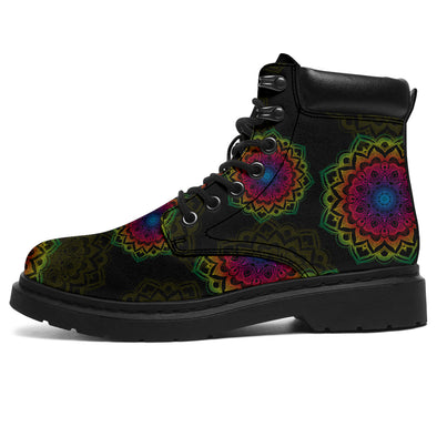 Mandala Coloful Vibe All-Season Boots
