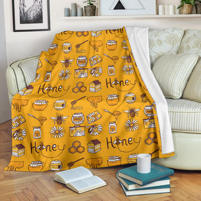 Honey Bee Premium Blanket