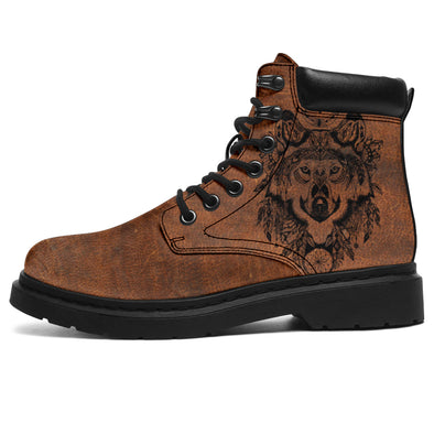 Boho Classic Wolf Dreamcatcher All-Season Boots