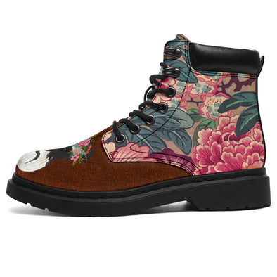 Great Dog Flower All-Season Boots