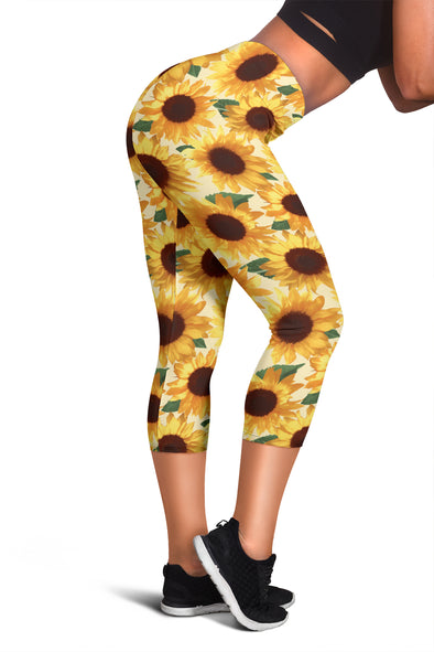 Sunflower Capris & Leggings