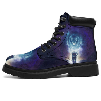 Lion King Galaxy All-Season Boots