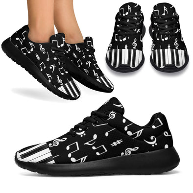 Piano Music Notes Sneakers