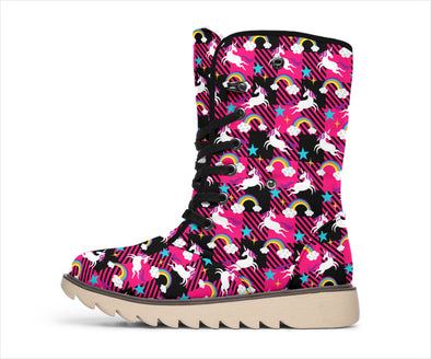 Unicorn Dancing Polar Boots