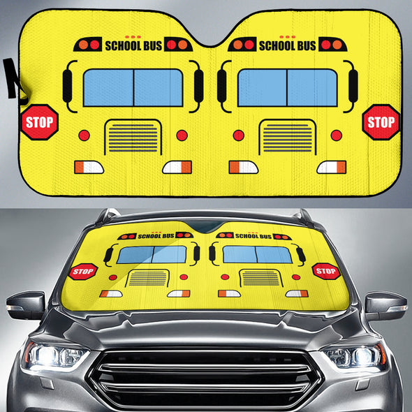 School Bus Auto Sun Shades