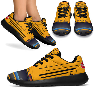 School Bus Driver Sport Sneakers
