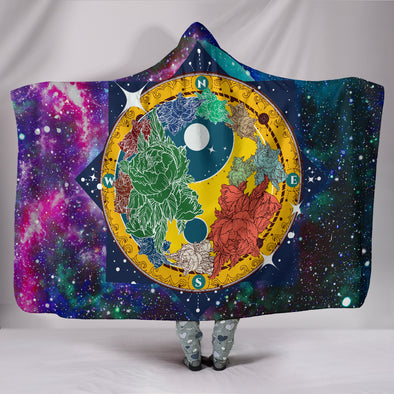 Yoga Yin Yang Hooded Blanket