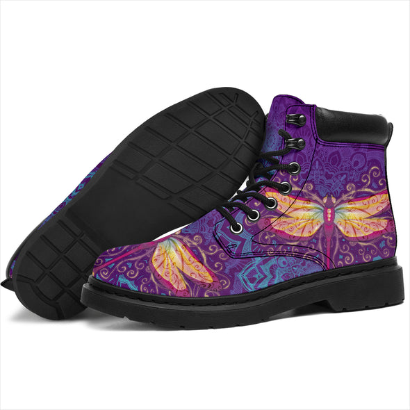 Dragonfly Mandala All-Season Boots