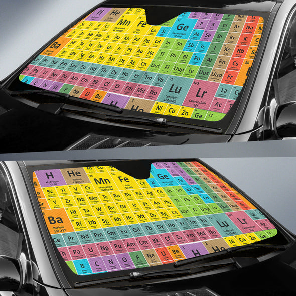 Periodic Table - Auto Sun Shades