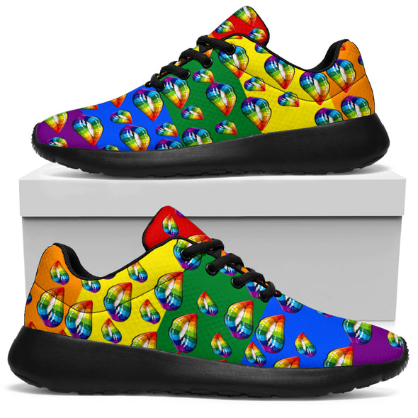 LGBT Licked Sneakers