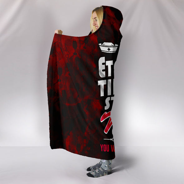 IT'S A NURSE THING HOODED BLANKET NURSING NURSES