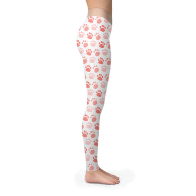 Leggings - Dog Foot Pattern - Leggings
