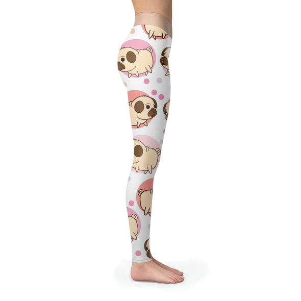 Leggings - Funny Chibi Dogs - Leggings