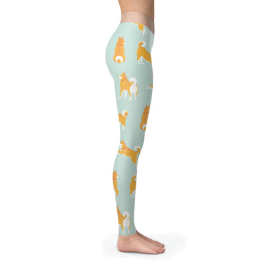 Leggings - Funny Dogs Pattern - Leggings
