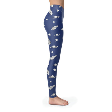 Leggings - Rocket And Universe Leggings
