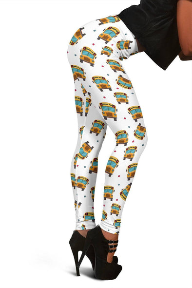 Leggings - Women's Leggings - School Bus