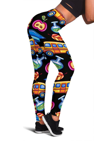 Leggings - Women's Leggings - School Bus 2