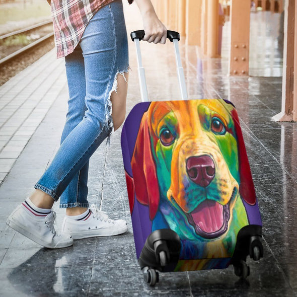 Luggagecovers - Colorful Dog