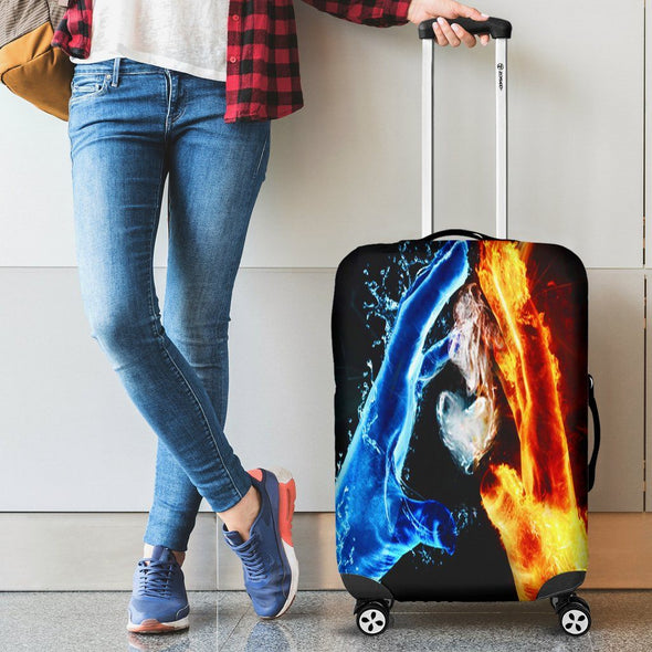 Luggagecovers - Fice And Ice Luggage