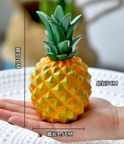 Modern Creative Pineapple Simulation Fruit Decoration