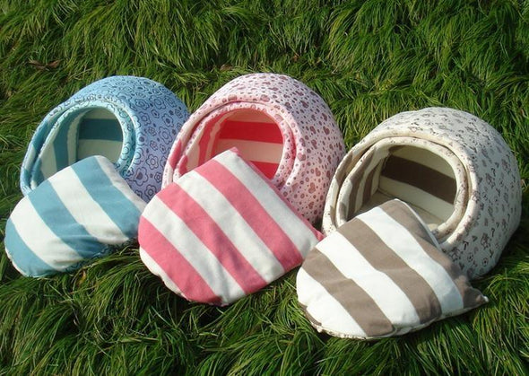New Cute Slipper Design Pet Cat Dog Princess Bed Nest Washable Small Dogs Warm House Kennel Dog Bed 8 Colors Free Shipping