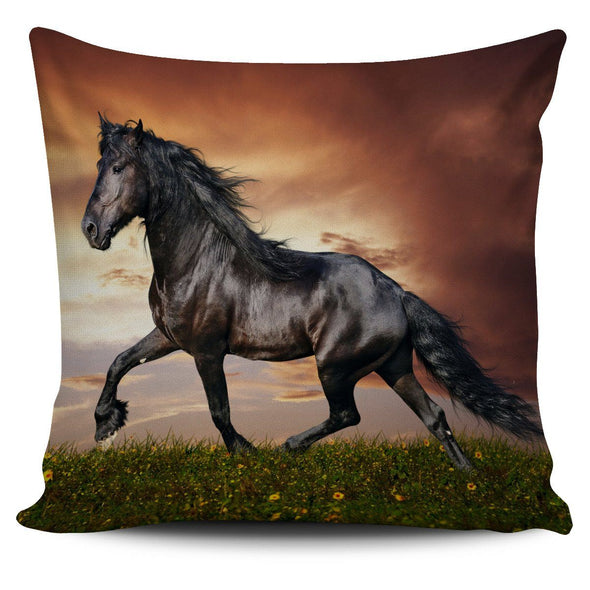 Pillows - Black Horse - Pillow Covers