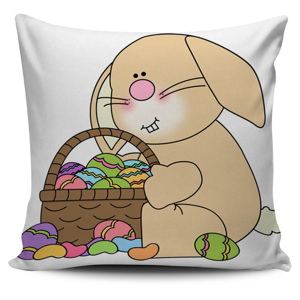 Pillows - Bunny Sitting With An Easter - Pillow Covers