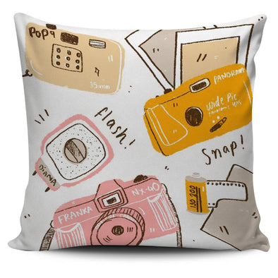 Pillows - Camera 02 - Pillow Covers