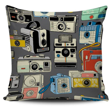 Pillows - Camera 04 - Pillow Covers