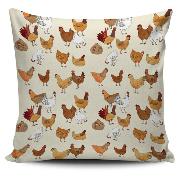 Pillows - Chickens - Pillow Covers