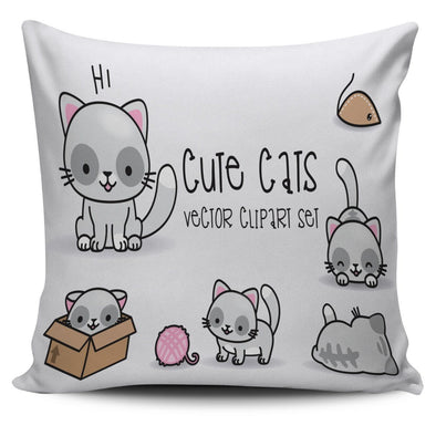Pillows - Cute Cats - Pillow Covers