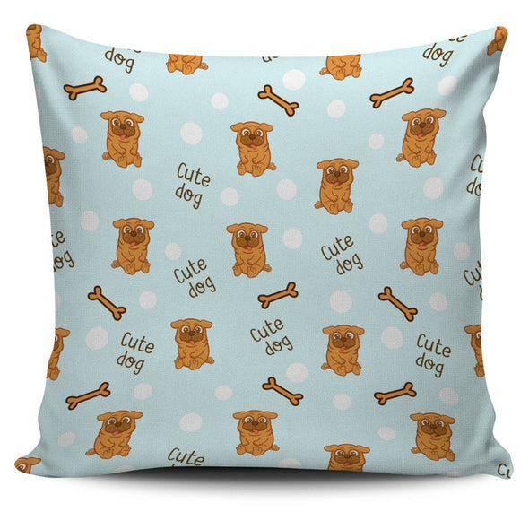 Pillows - Cute Dog Pillow Cover
